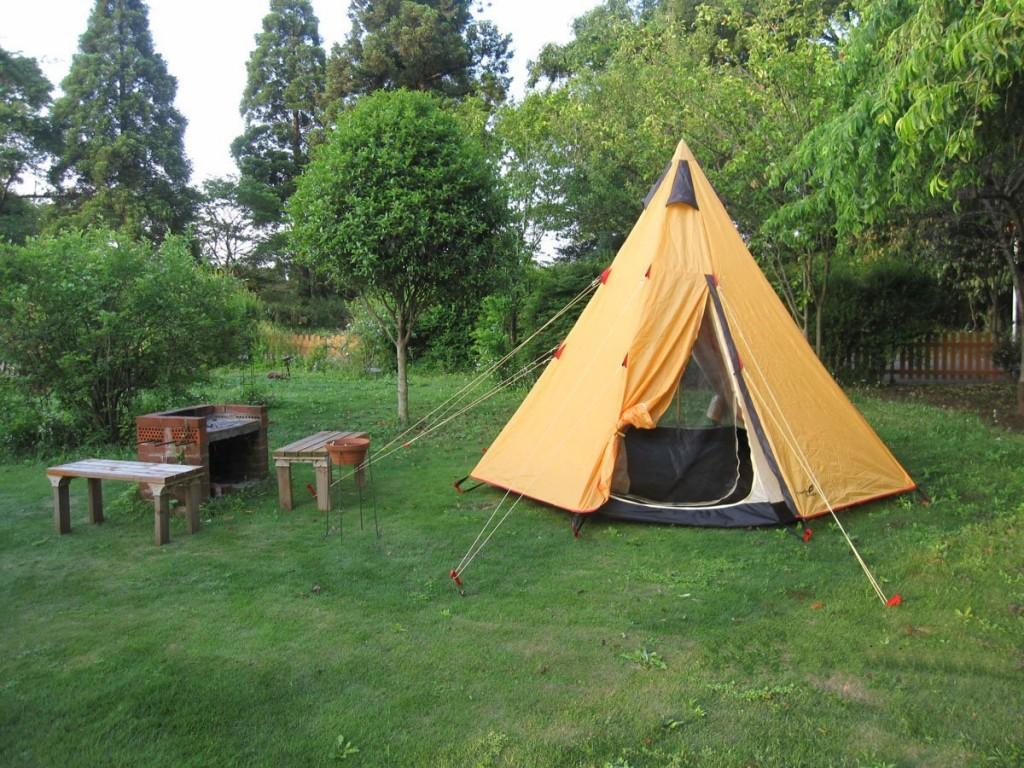 ファミリーキャンプのイメージ