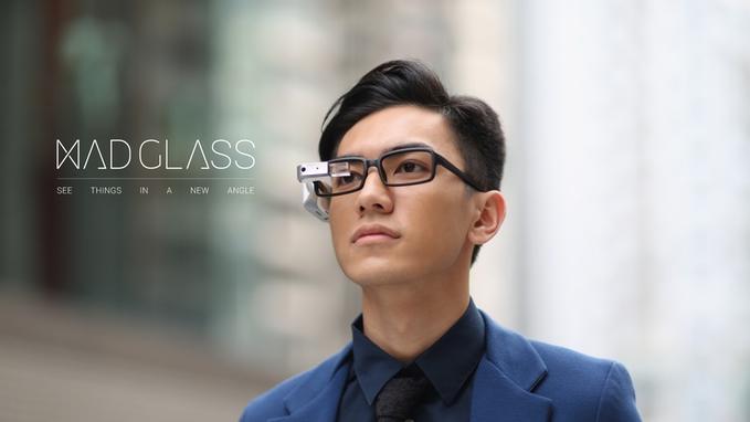 もうスマホはいらない?びっくりするくらいイロイロできるスマートグラス「MAD Glass」