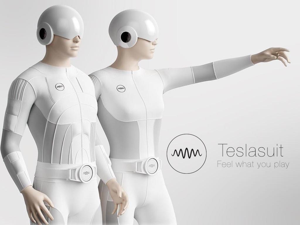 ついにVRは次世代へ突入?全身でバーチャルリアリティーを体感できる「Teslasuit」