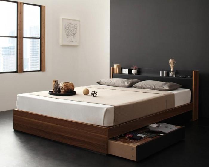 ベッドをもっと機能的に、おしゃれに!ダブルベッドこそおすすめしたい収納ベッド特集