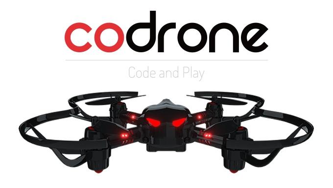 世界初!自由自在にプログラム可能なドローン組立キット「CoDrone」