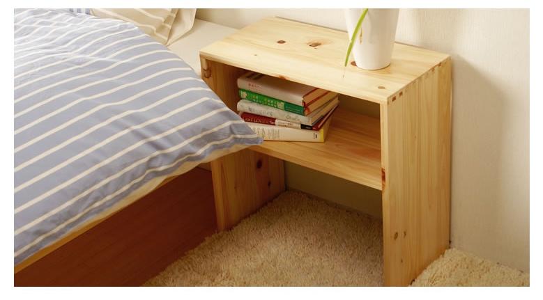 ベッド周りをすっきりきれい!おしゃれな北欧風ナイトテーブル15選