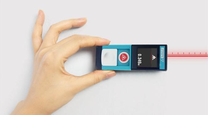 ポケットに1台!コンパクトで革新的なレーザー距離計「dTAPE」