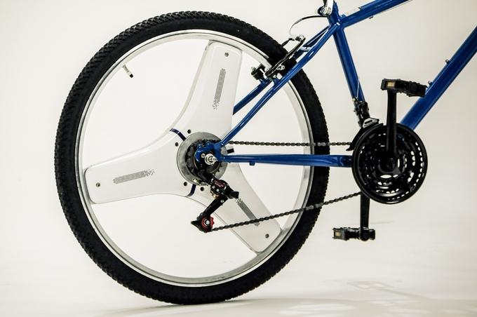 わずか数秒!普通の自転車を電動アシスト付きに早変わりさせる「CENTINEL WHEEL」