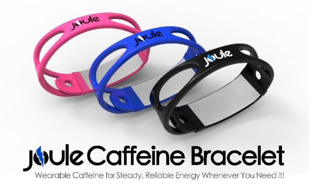 手首に巻くだけで集中力チャージ?「Joule」でウェアラブルカフェインが実現