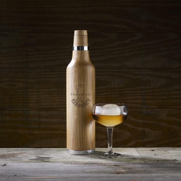 あの激安ワインがビンテージなみに?家庭でお酒をあっという間に熟成できる「Oak Bottle」