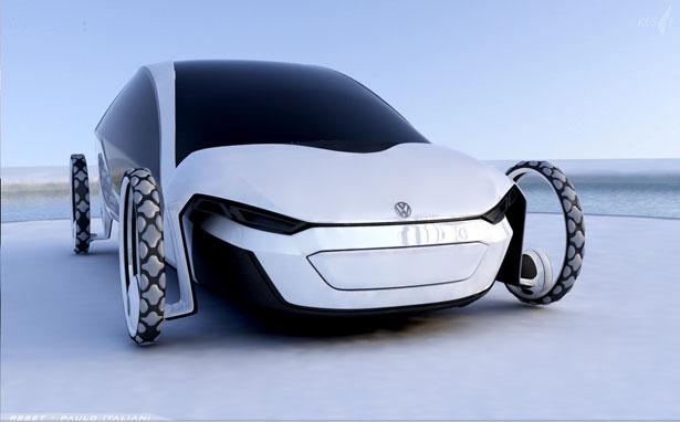 これが将来の自動車のあるべき姿!フォルクスワーゲンのコンバーチブル・コンセプトカー「RESeT」