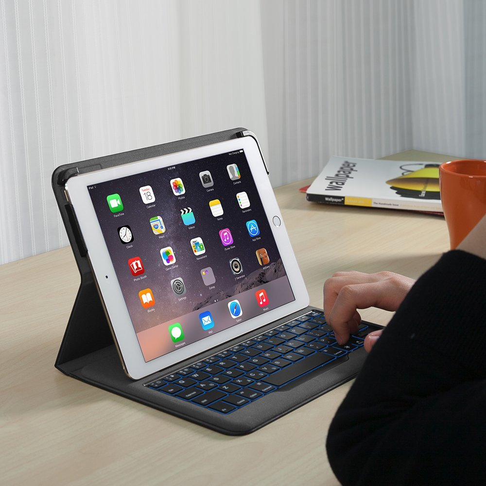 大事なiPadをおしゃれに守ろう。おすすめのキーボード付きiPad Air 2対応ケース7選