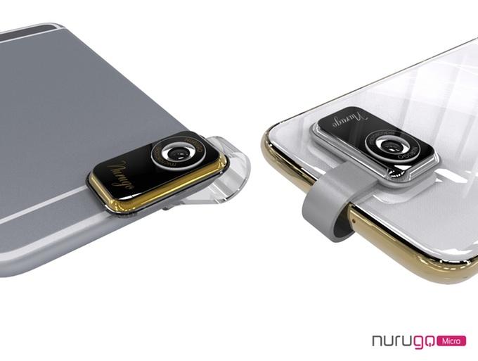 倍率400倍!最小最軽量のデジタルマイクロスコープ「Nurugo Micro」