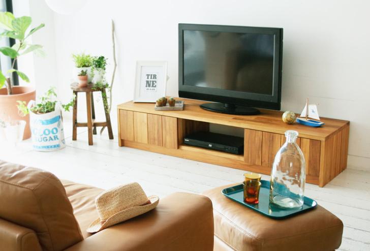無垢材を使用したテレビ台おすすめ7選。本物の温もりを感じよう