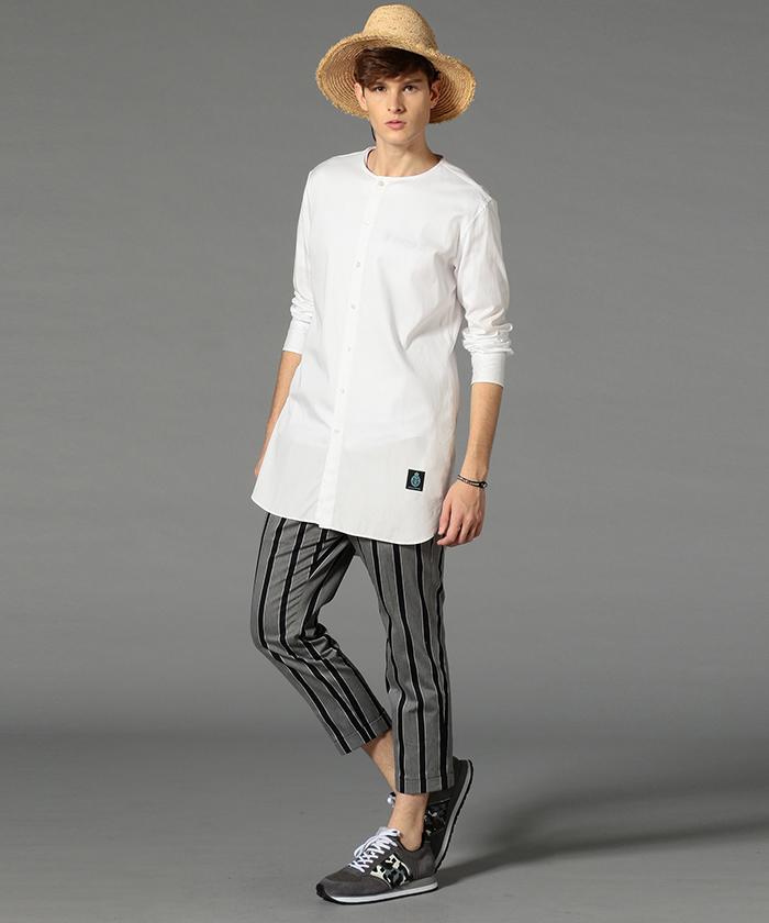コーデに取り入れたいロングシャツおすすめ7選。清潔感をあなたの服装に