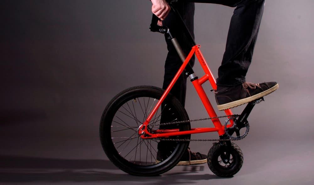 全く新しい自転車が誕生!ハーフバイクが折りたたみ式よりいいかも