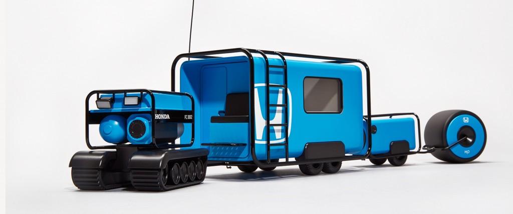自動運転で世界旅行!7つのステージを走破するホンダのコンセプトカーが夢一杯
