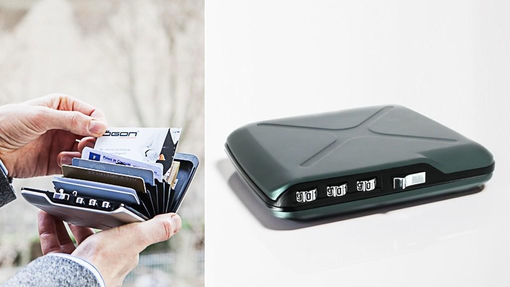 忘れない、盗られない、データも安全な財布「CODE WALLET」が防犯機能満載