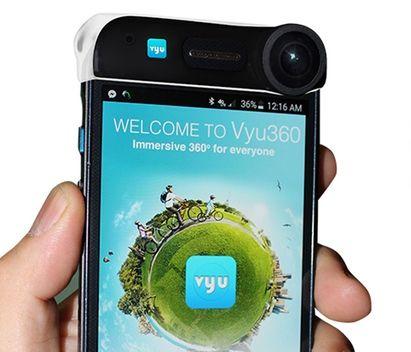 スマホを全天球カメラ化!「Vyu360 」で撮影したらすぐにシェア