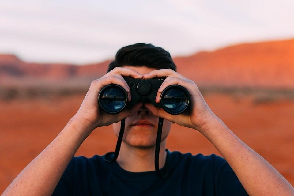 双眼鏡のイメージ