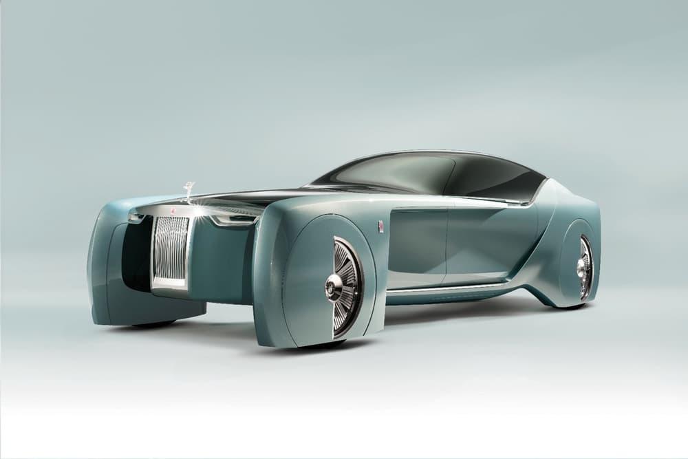 ロールス・ロイスだと自動運転はこうなる!美しいフォルムと圧倒的な未来感