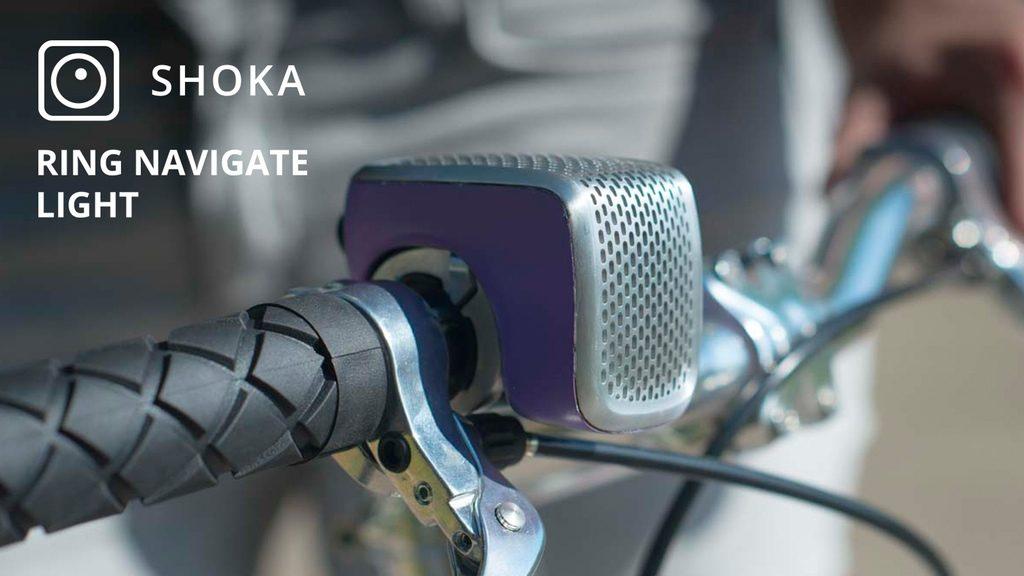1台4役の自転車スマートベルが便利!鳴って、光り、導き、守ってくれる頼もしいヤツ
