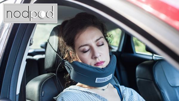 車でぐっすり寝たい人必見!「NodPod」で旅行中の仮眠をもっと快適に
