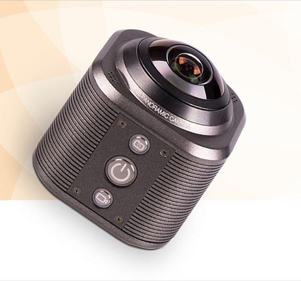 90分も撮影できる!360°4Kアクションカメラで思い出を残そう