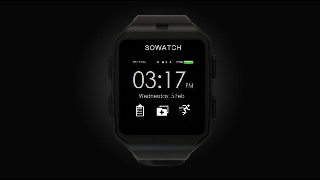 まるで専属トレーナー!健康やトレーニングを見守る「SOWATCH」がパーフェクト
