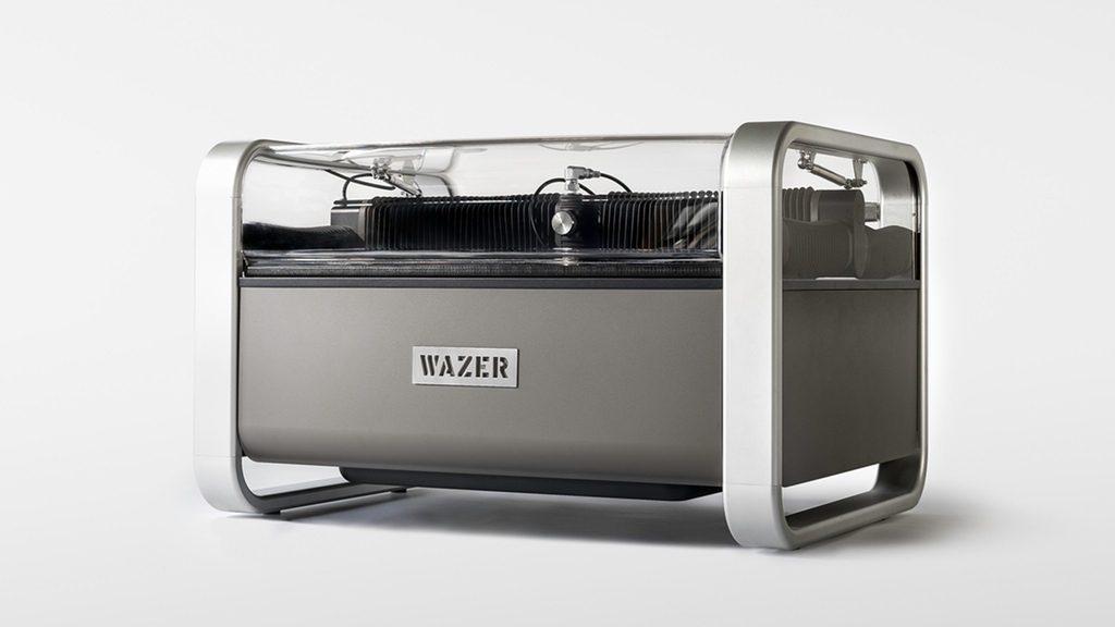 世界初!デスクトップ ウォータージェット加工機「WAZER」が驚きの3599ドル