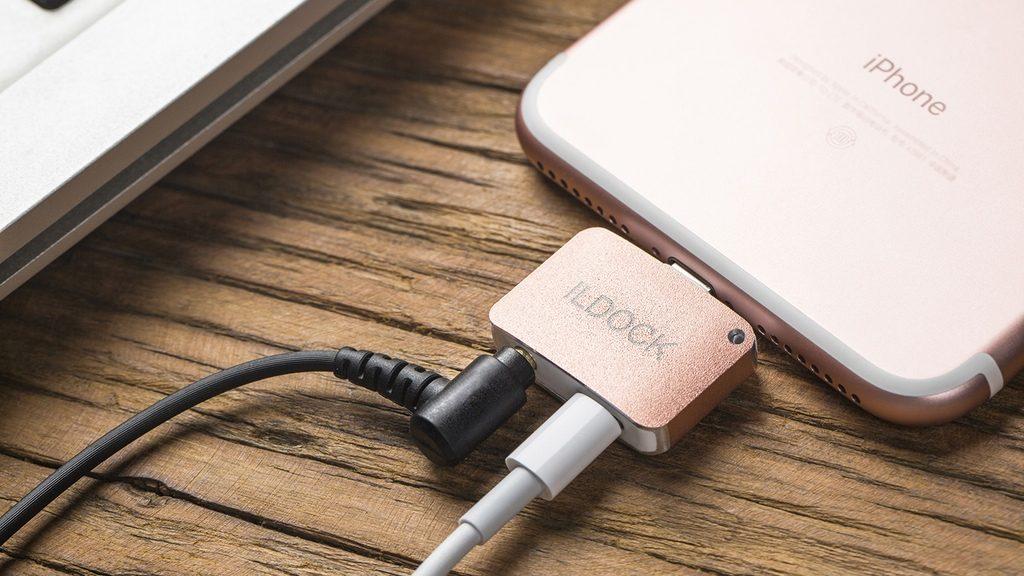 iPhone 7 で充電しながらイヤホン使える「iLDOCK」はデザインも完璧