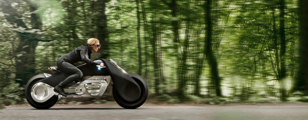 BMWの予言が衝撃的!未来コンセプトバイクはヘルメットなしで味わう駆けぬける歓び