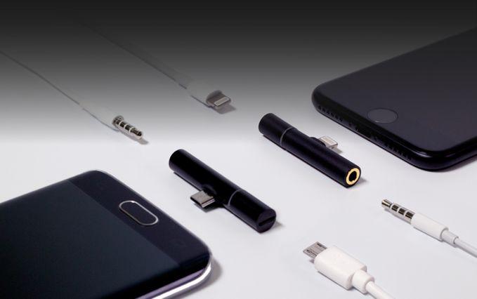 iPhone7を充電しながらイヤホン使える「Auxillite」がスリムビューティ