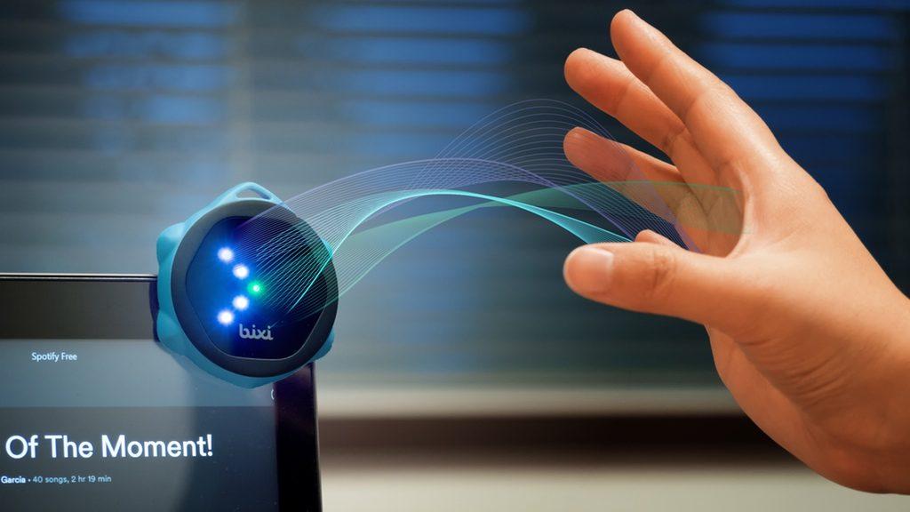 あらゆるデバイスをジェスチャーコントロールできる「Bixi」が活用法無限大