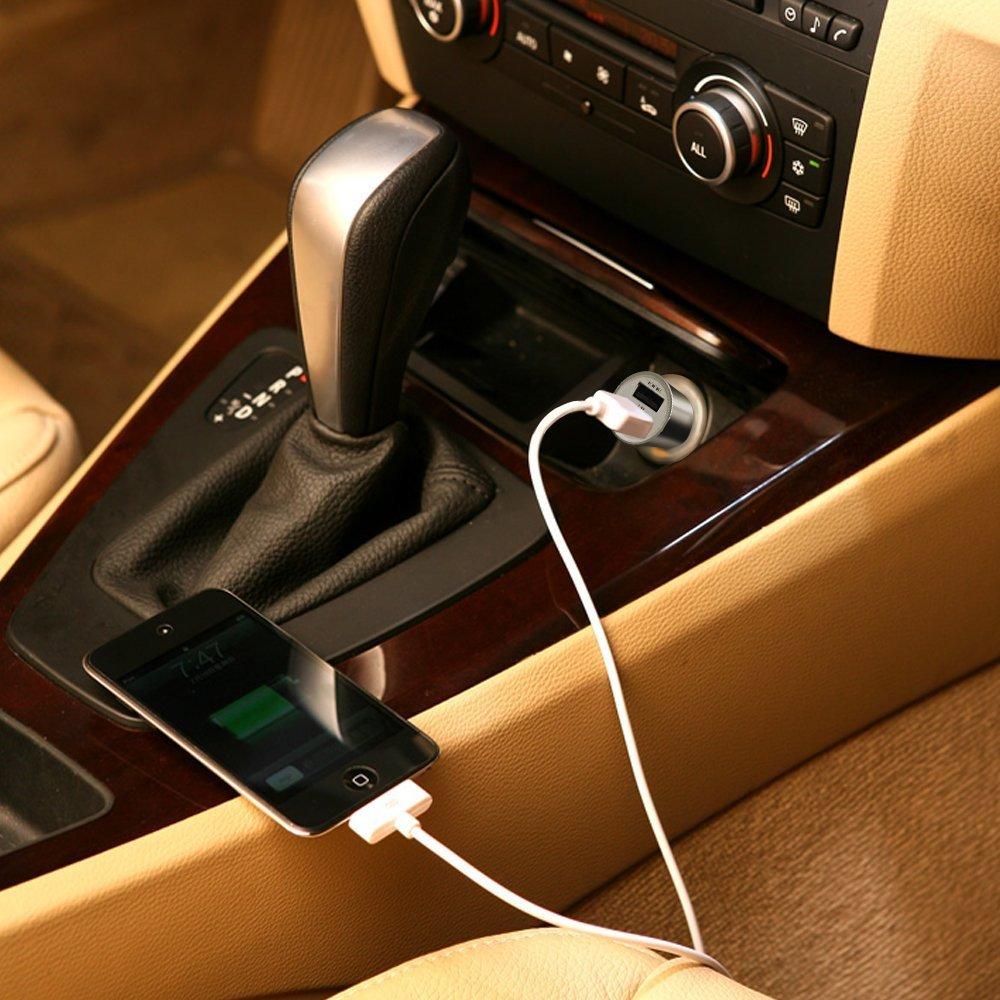 急速充電可能なUSBカーチャージャーおすすめ12選。車の中でもすぐにフル充電