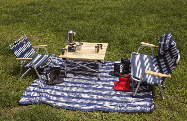 コールマンのテーブル6選。人気アイテムから折り畳み式まで
