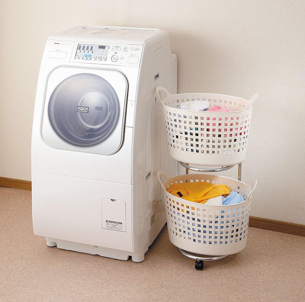 スリムでおしゃれなおすすめランドリーワゴン10選。洗濯物を美しく収納しよう