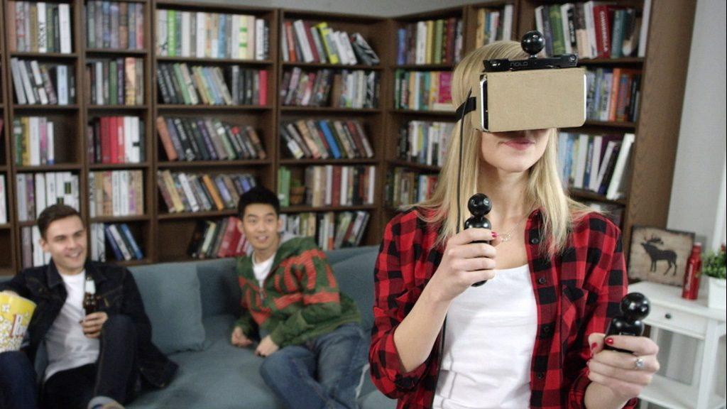 わずか99ドル!スマホでも本格VRゲームが楽しめる「NOLO」
