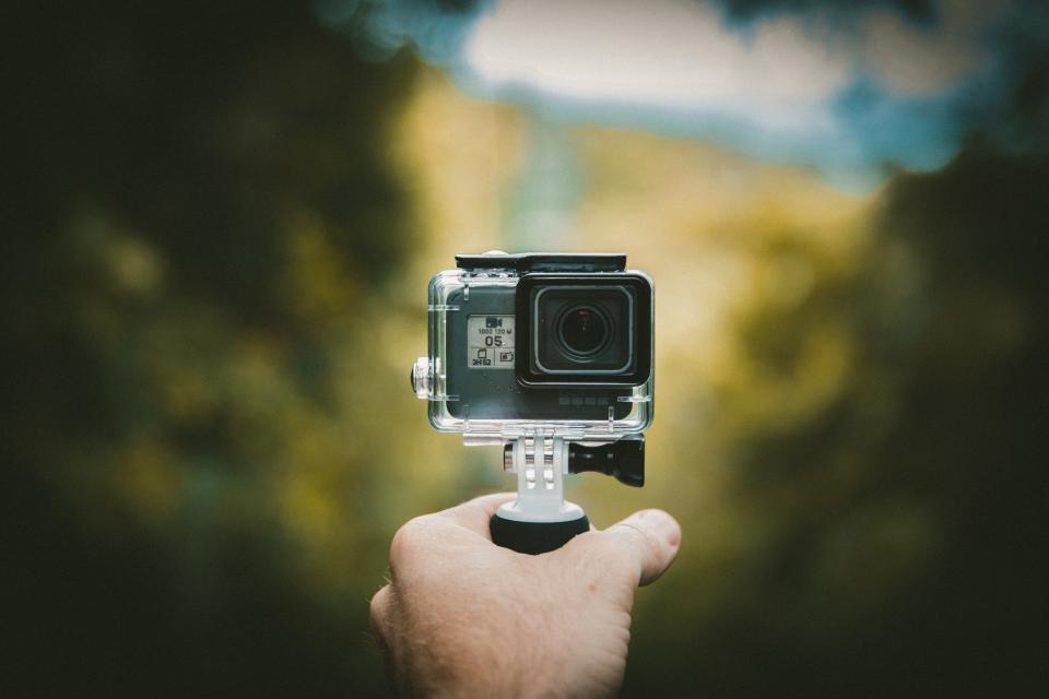 アクションカメラのイメージ