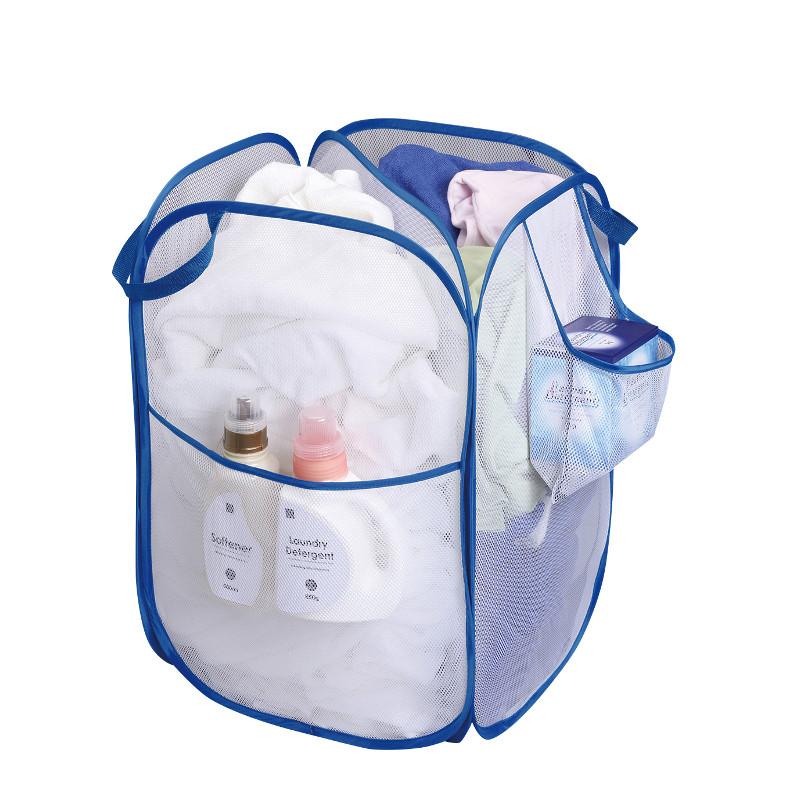 必殺仕分けバッグ!衣類にバスタオル、洗剤も収納できる「洗濯入れ」