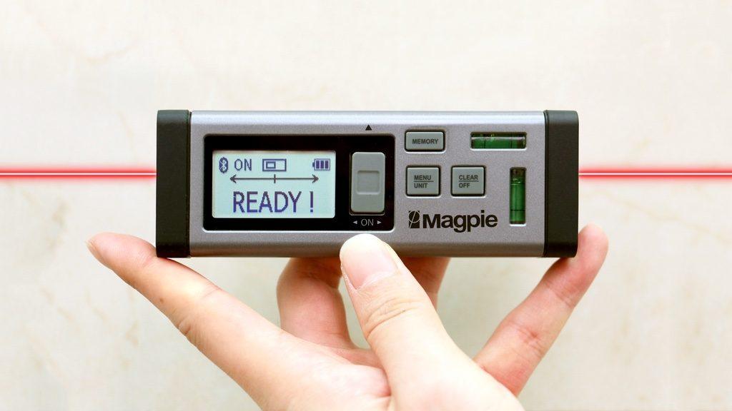 測定が劇的にラクになる!世界初、少ない工程でたくさん測れる2方向レーザー距離計