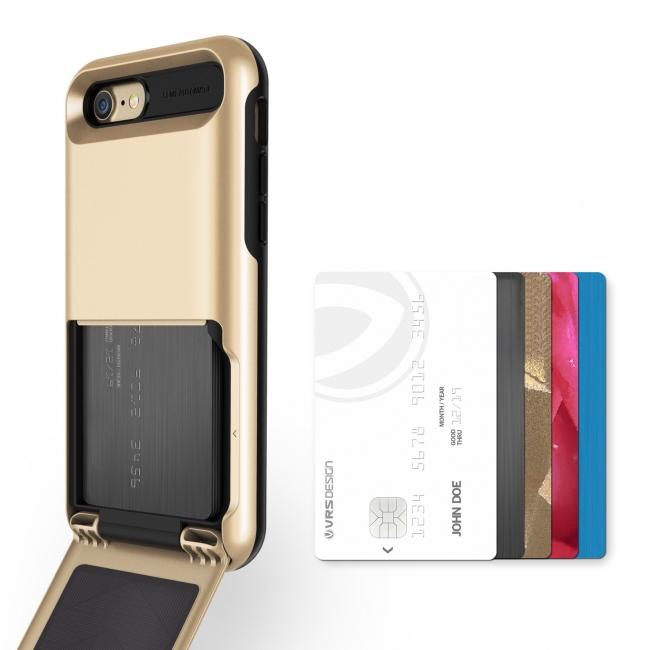 スマホがあればもう十分。クレカなど最大5枚収納できる iPhone 7ケース