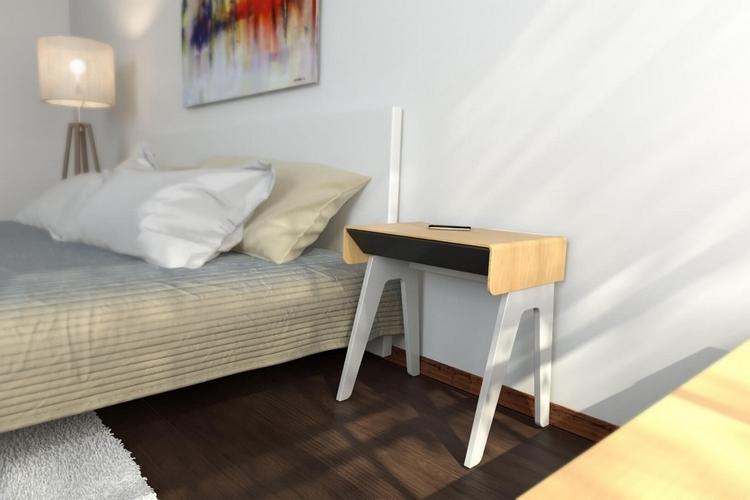 ベッドサイドが超絶便利に!スマホとつながるスマートナイトテーブルがデキすぎレベル