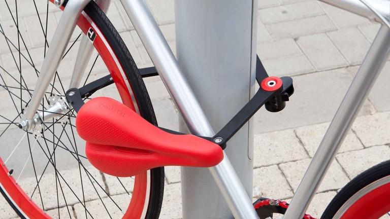 自転車の鍵に変形するサドルが超強力