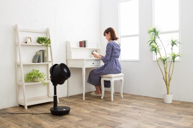 これ1台でOK!換気や部屋干しを助ける「扇風機&サーキュレーター 」