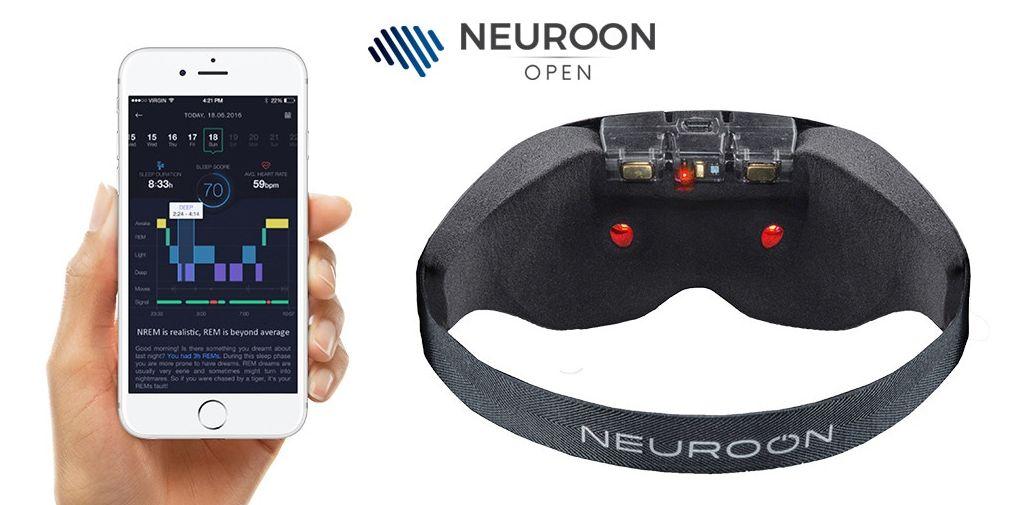 ハイレベル!脳波+心拍数+体温データで安眠にみちびくマスク型ウェアラブル