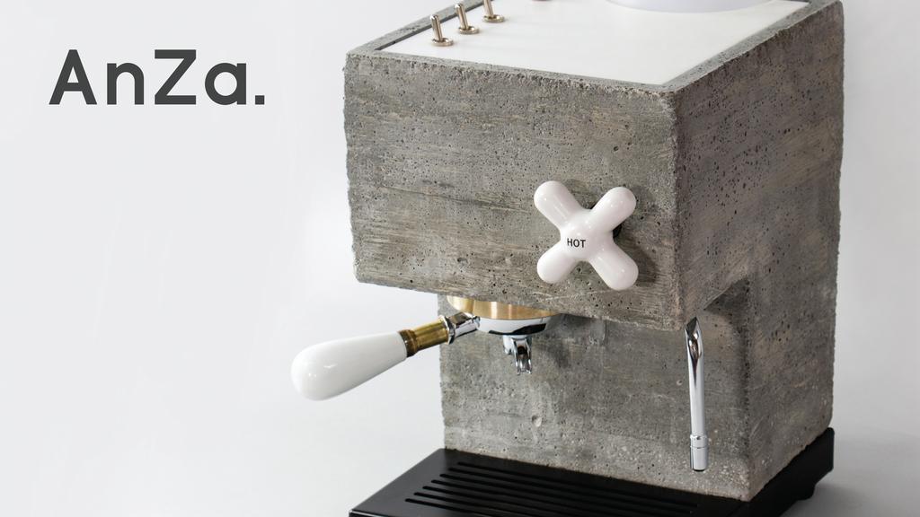 こだわりデザインでこだわりの味を。人工大理石やコンクリート製エスプレッソマシン