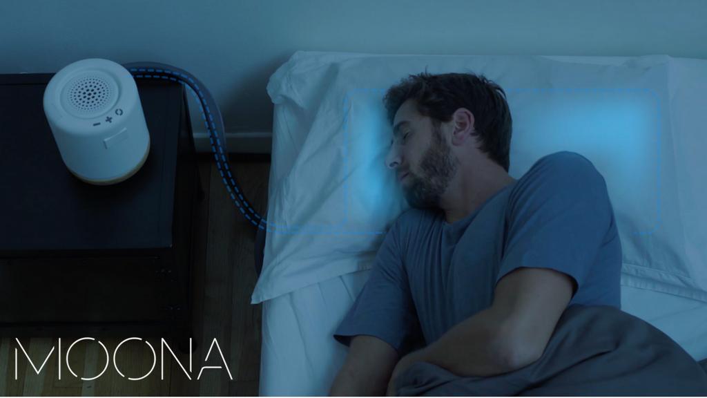 サクッと入眠、スッキリお目覚め!睡眠状態に合わせて温度を変化させるスマート枕