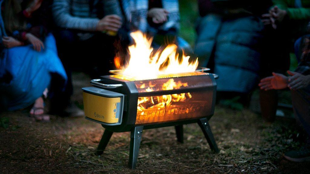 焚き火をアップグレードしよう!スマホで火力調節できる煙が出ない焚き火台