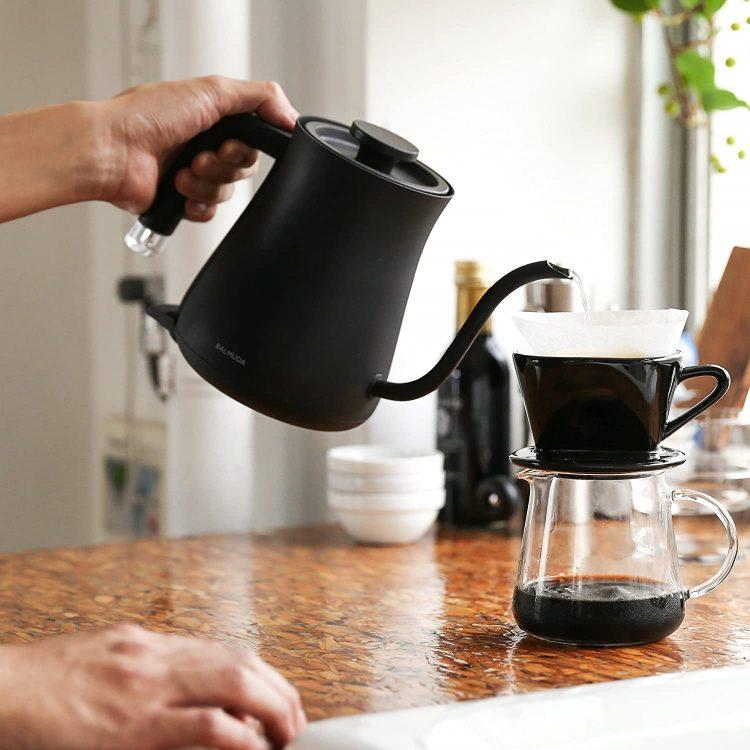 コーヒーに最適な電気ケトル11選。ハンドドリップにはコレ