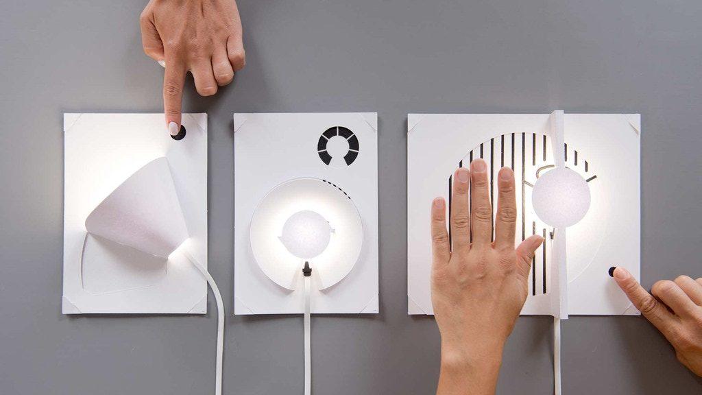 紙工作と光をコラボしよう!わずか3ステップで完成する紙製ライト自作キット