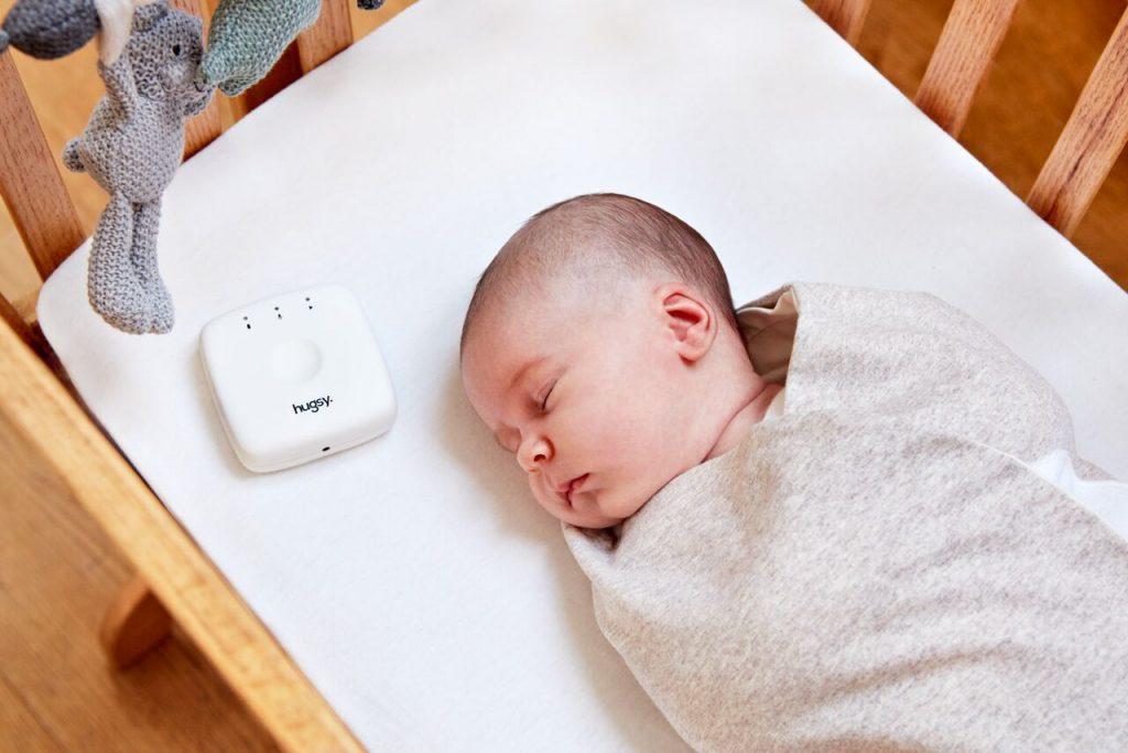 離れていても安心。ママのにおいと心拍音でスヤスヤ眠れる赤ちゃんおくるみ