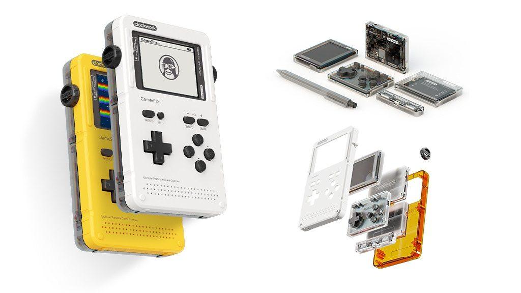 ゲームときどき電子工作。レトロゲームが楽しめる組み立て式携帯ゲーム機
