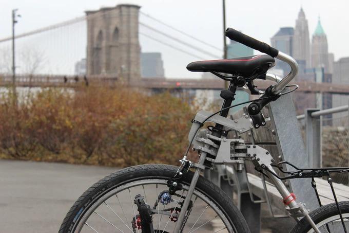 前輪駆動の新感覚自転車「Bellcycles」。広々視野で快適サイクリング